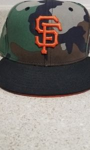 San Francisco Giants Camo Hat